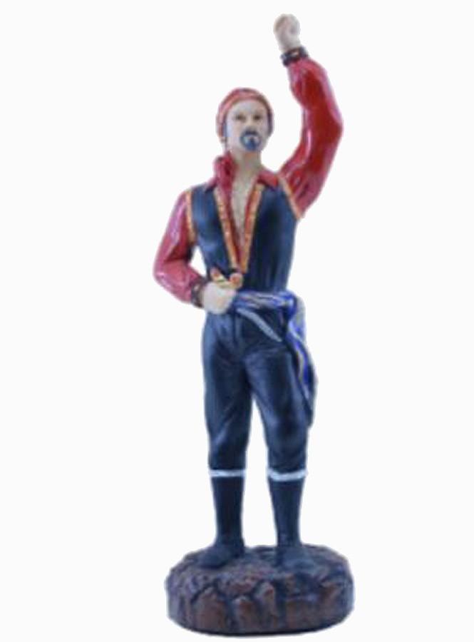 Estatua Imagem de Cigano M  Vermelho  - Arrivo Mobile