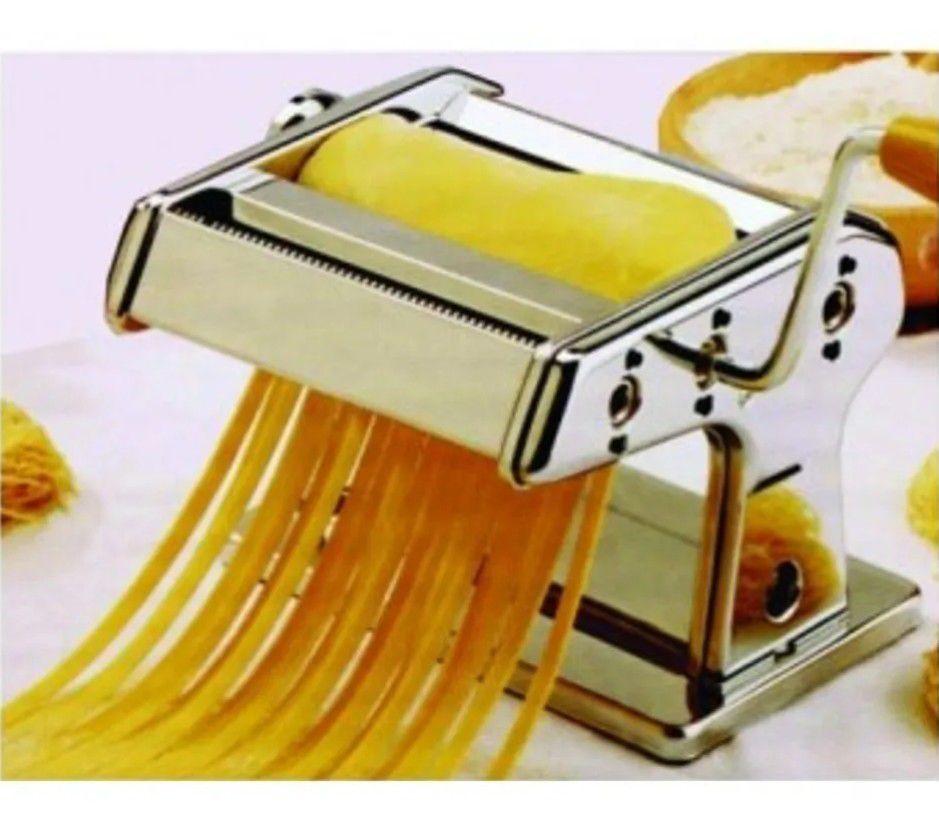 Cilindro Manual De Massa Triplo Talharim Buona Pasta Maker  - Arrivo Mobile
