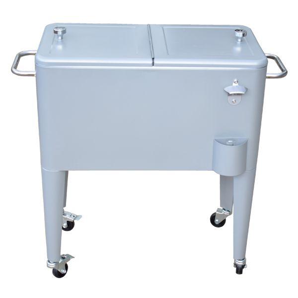 Cooler Retro Grande Com Rodas Logo Pespi Ferro  - Arrivo Mobile