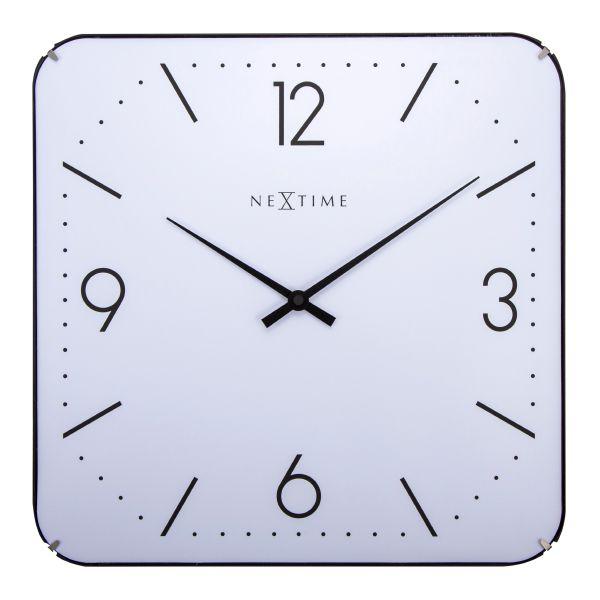 f6a35ec3643 Relógio Parede Square Dome White Nextime - Arrivo Mobile ...