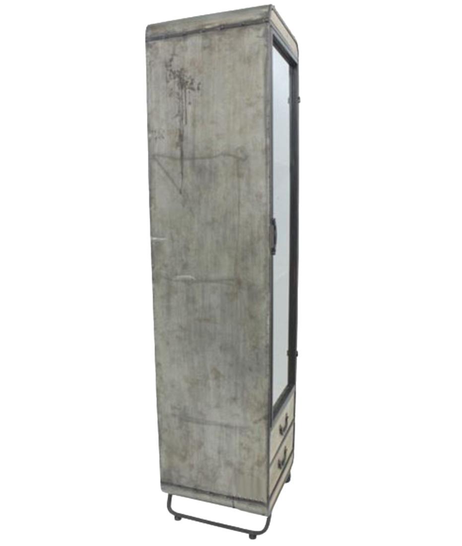 Cristaleira De Metal E Vidro C2 Gav 191x46x47cm  - Arrivo Mobile