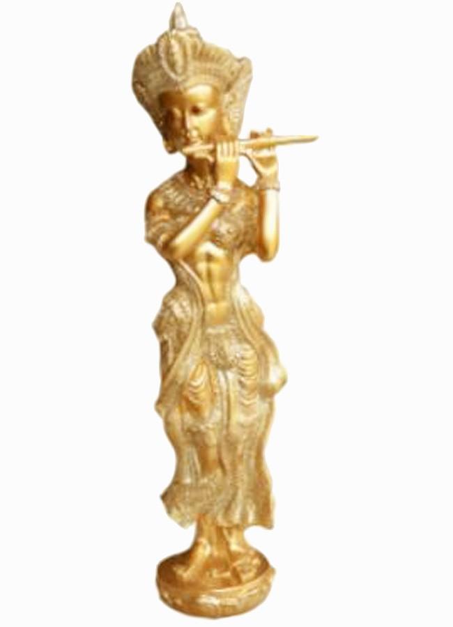Estatua Imagem de Deusa Tara Com Flauta Importado  - Arrivo Mobile