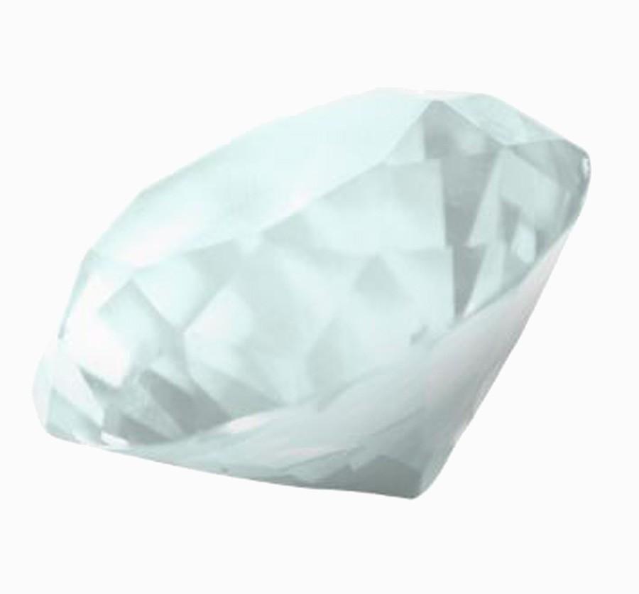 Diamante De Cristal Branco 40mm Imp  - Arrivo Mobile
