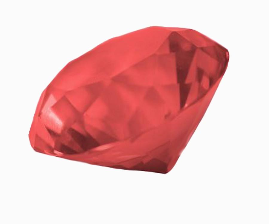 Diamante De Cristal Vermelho 30mm Imp  - Arrivo Mobile