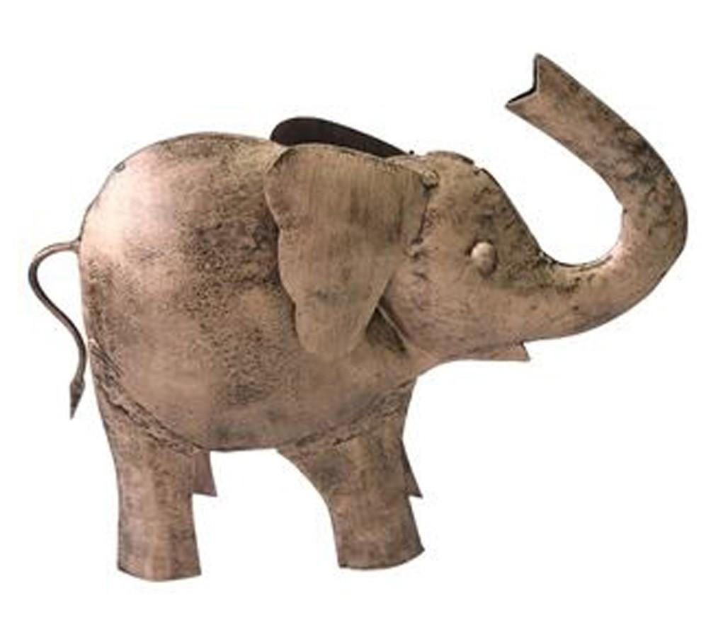 Elefante Decorativo em Ferro 18x6x23cm  - Arrivo Mobile