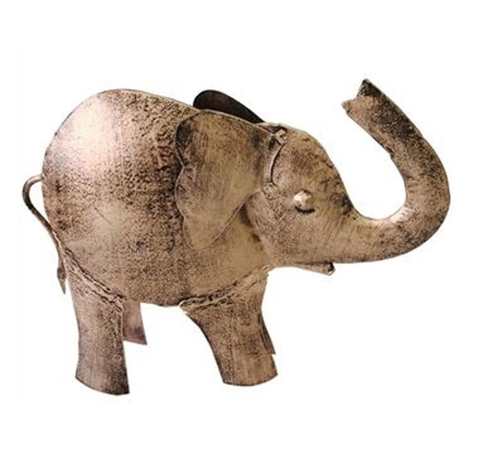 Estatua Imagem de Elefante Decorativo Grande  - Arrivo Mobile