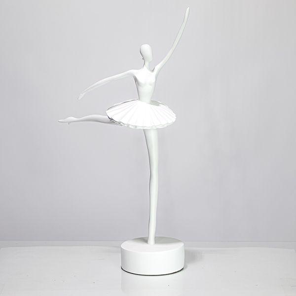 Escultura Bailarina White  - Arrivo Mobile