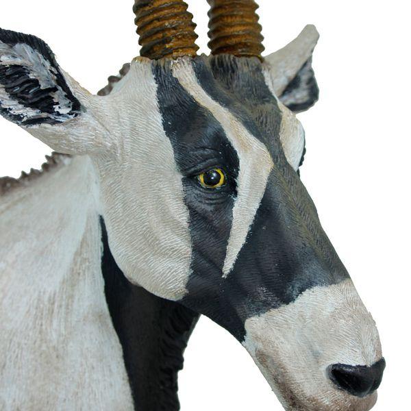 Escultura Cabeça Antilope Natural 102x40x27cm  - Arrivo Mobile