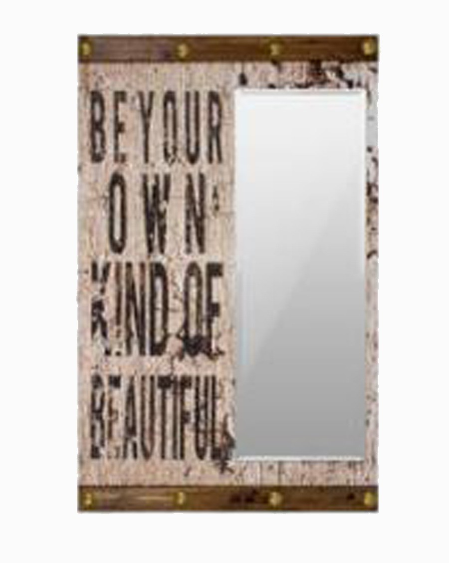 Espelho Beyond Your Kind Ofbeauti Oldway 110x70x6cm  - Arrivo Mobile