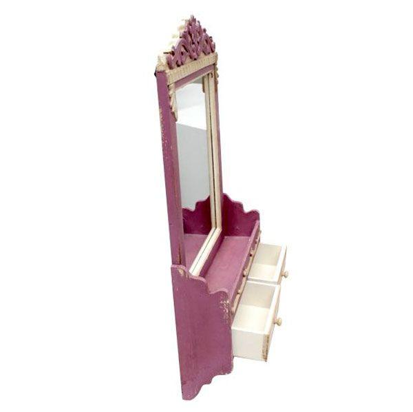 Espelho C Aparador 2 Gavets 2 Ganchos  - Arrivo Mobile