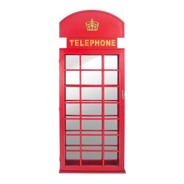 Espelho Cabine Telefônica 200x80x12cm  -  Arrivo Mobile