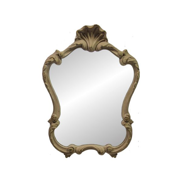 Espelho Com  Moldura  Ant Grey Goldway  65x48x5cm  - Arrivo Mobile