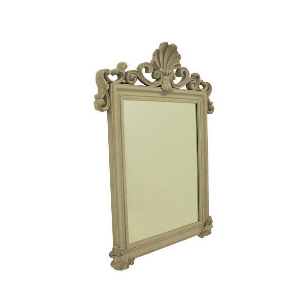 Espelho Com  Moldura  Antique Grey Goldway 93x68x6cm  - Arrivo Mobile