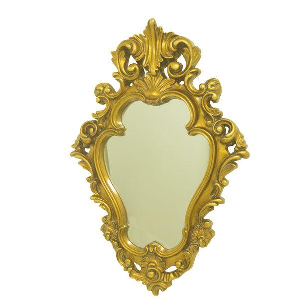 Espelho Com Moldura Gold  - Arrivo Mobile