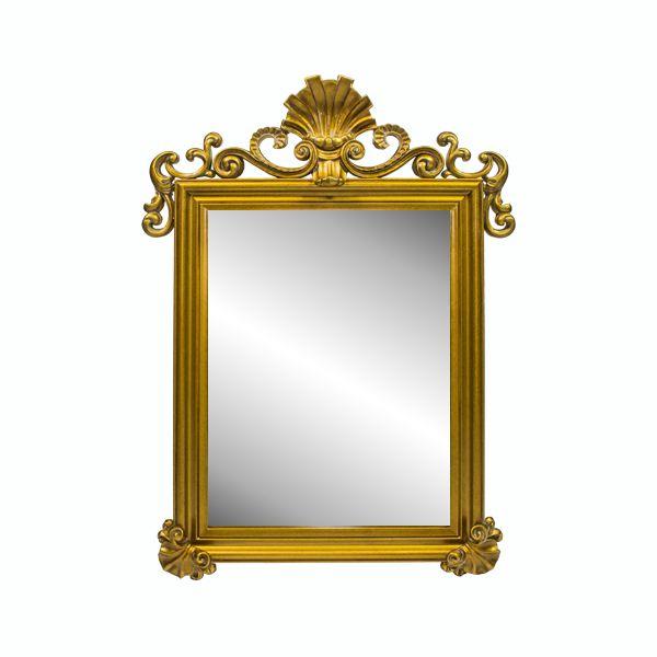 Espelho Com Moldura Gold Goldway  - Arrivo Mobile