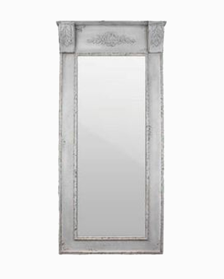 Espelho Escultura Top Branco Provence Oldway 200x95x15cm  - Arrivo Mobile