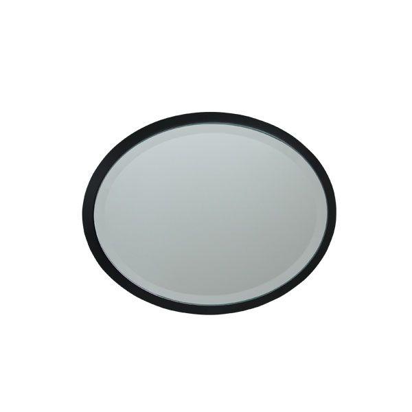 Espelho Oval Mdf Black Goldway  - Arrivo Mobile