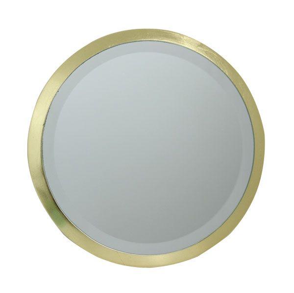 Espelho Redondo Mdf Gold Goldway  - Arrivo Mobile