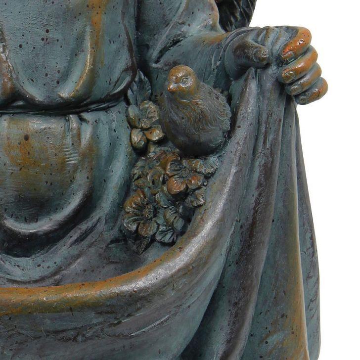 Estátua Comedor Pas Anjo Joelhos Greenway 51X32X32  - Arrivo Mobile