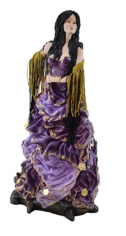 Estatua Imagem de Cigana G Roxa  - Arrivo Mobile