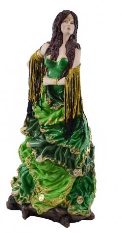 Estatua Imagem de Cigana G Verde  - Arrivo Mobile