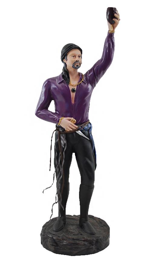 Estatua Imagem de Cigano M Roxo  - Arrivo Mobile