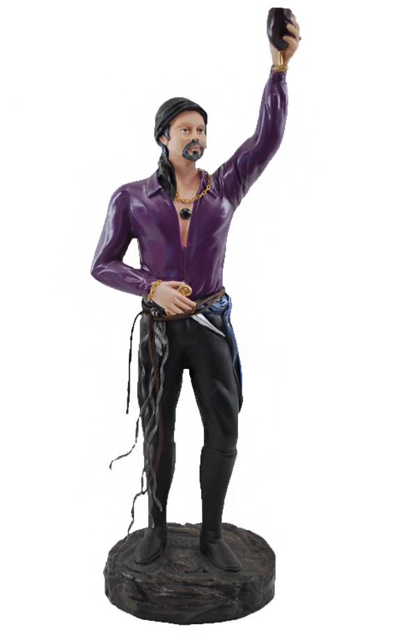 Estatua Imagem de Cigano P Roxo  - Arrivo Mobile