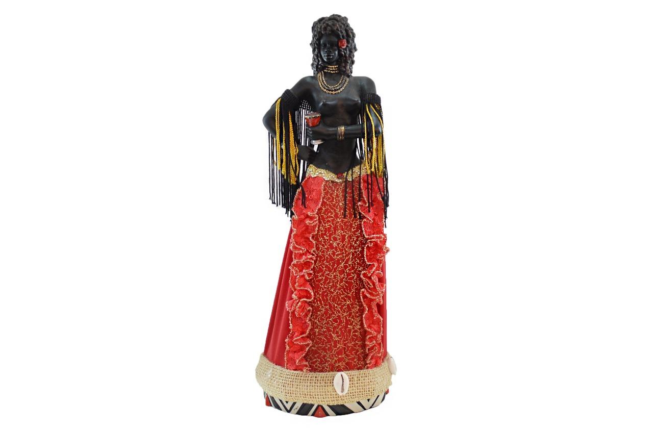 Estatua Imagem Orixá de Pomba Gira G  - Arrivo Mobile