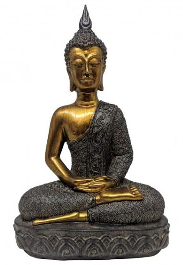 Estatueta Decorativa Buda 18.5x11.5x30  - Arrivo Mobile