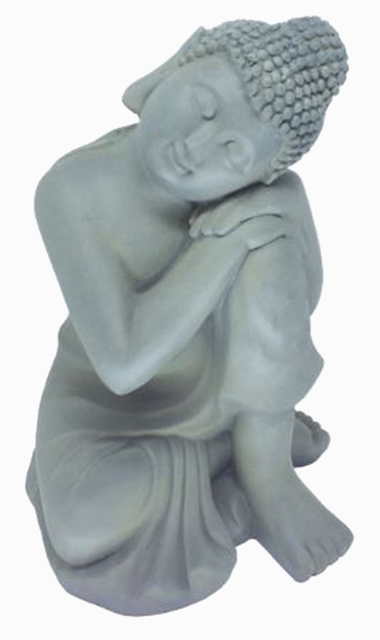 Estatueta Decorativa Buda - 24,5x27,5x36 Cm  - Arrivo Mobile