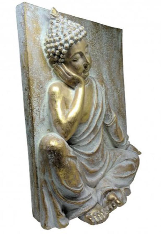 Estatueta Decorativa Buda 40.7x15.4x50.5 Cm  - Arrivo Mobile