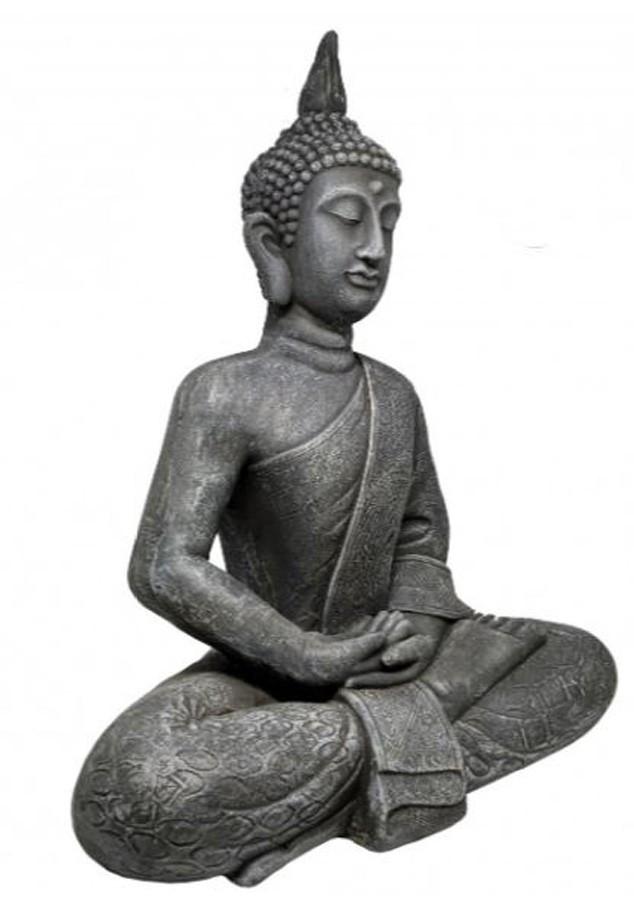 Estatueta Decorativa Buda 49,5x27,5x61,5cm  - Arrivo Mobile