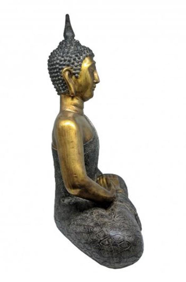 Estatueta Decorativa Buda 49.5x27.5x61.5cm  - Arrivo Mobile