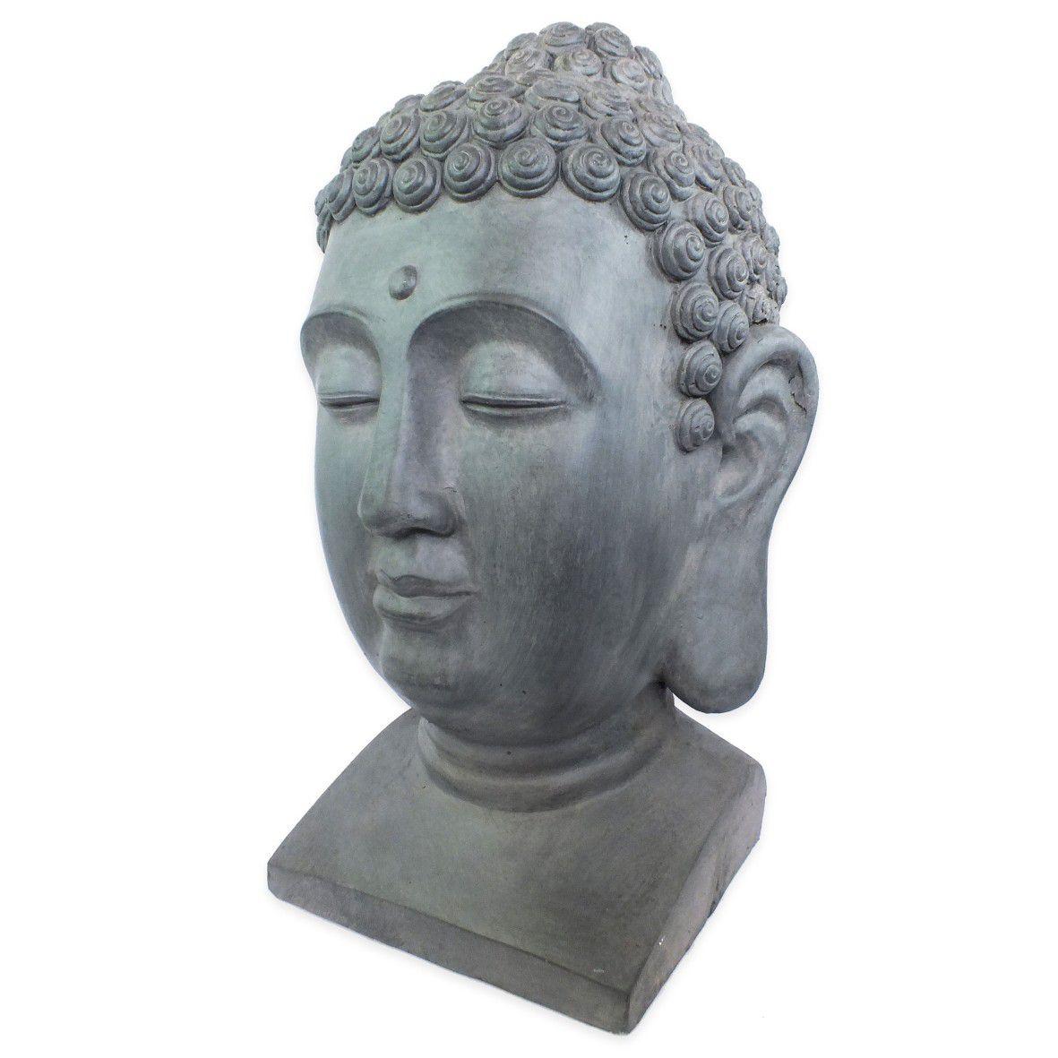 Estatueta Decorativa Cabeça Buda  - Arrivo Mobile
