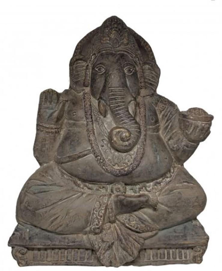 Estatueta Decorativa Ganesha 43.5x11x56cm  - Arrivo Mobile