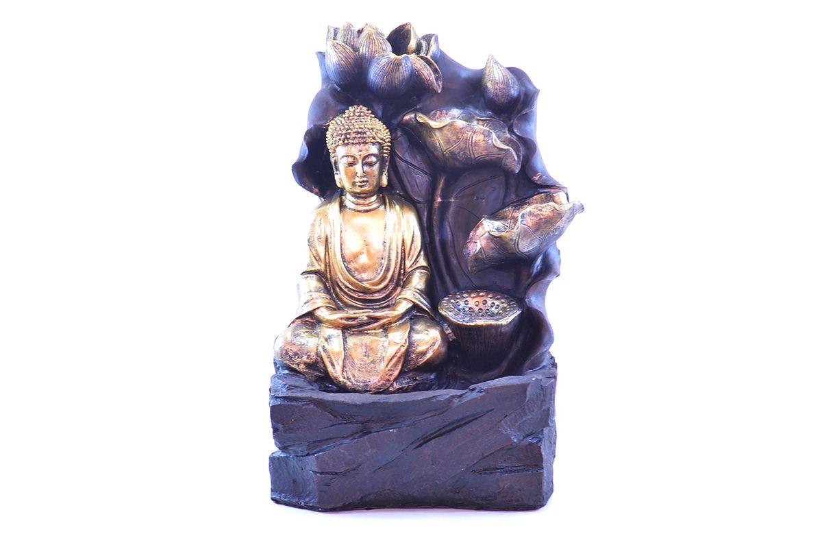 Fonte de Água G Buda Meditando 40cm  - Arrivo Mobile