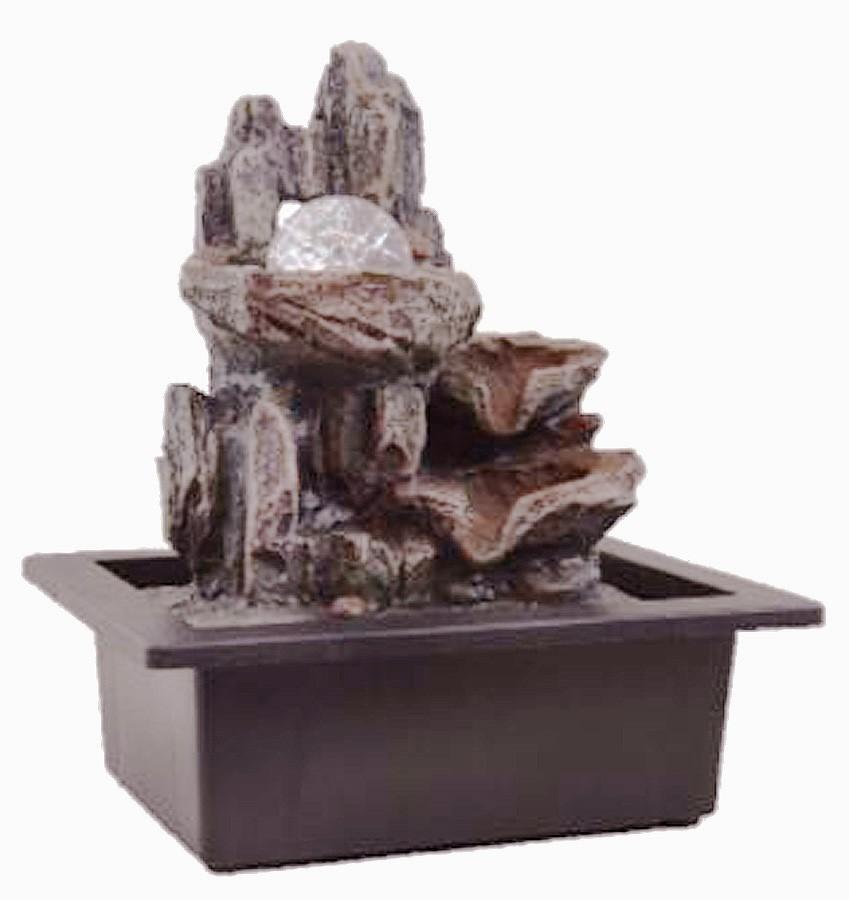 Fonte Zen De Água Pedras Com Bola  - Arrivo Mobile