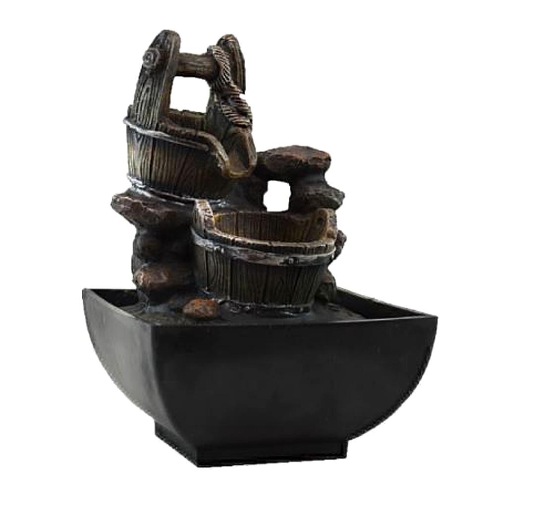 Fonte Zen De Água Poço Com Balde  - Arrivo Mobile