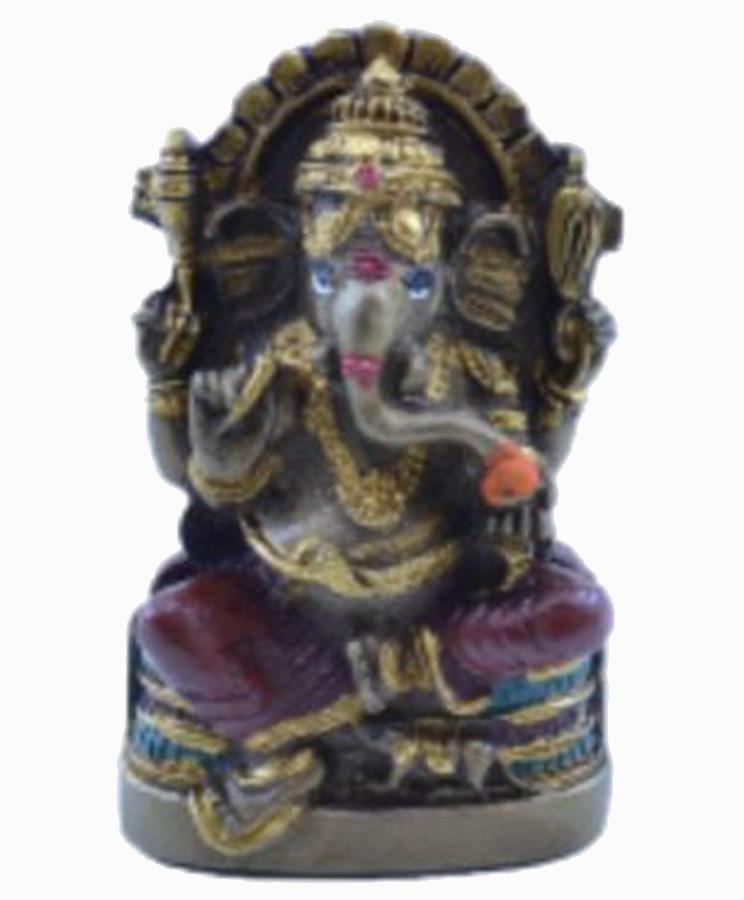 Estatua Enfeite Deus Ganesha P Vermelho Costas Lisa Plana  - Arrivo Mobile