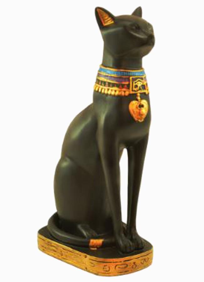 Estatua Enfeite Egipcio Gato Bastet 24 Cm  - Arrivo Mobile