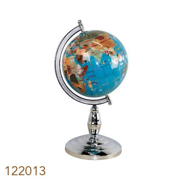 Globo De Pedras L. Blue Silver Mini  - Arrivo Mobile