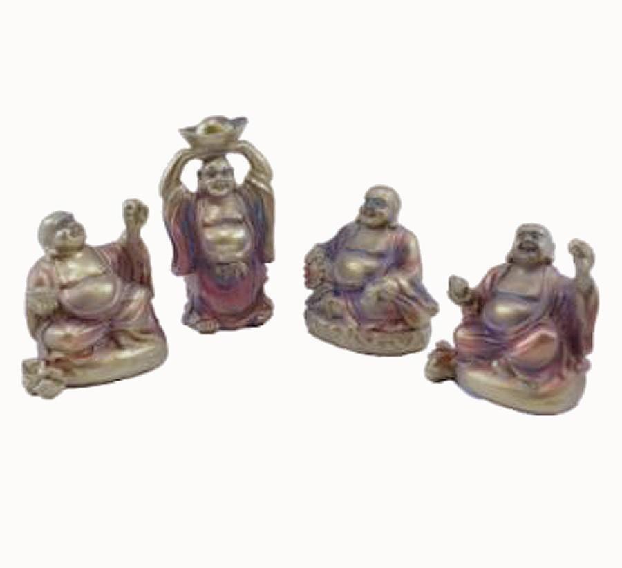 Jogo Com 4 Budas Importado  - Arrivo Mobile