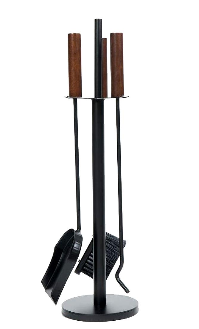Kit de limpeza para lareira P cabo madeira 3 ferramentas  - Arrivo Mobile
