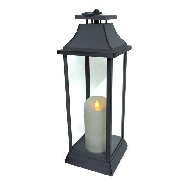 Lanterna Cinza Gde C Vela Led Oldway  - Arrivo Mobile