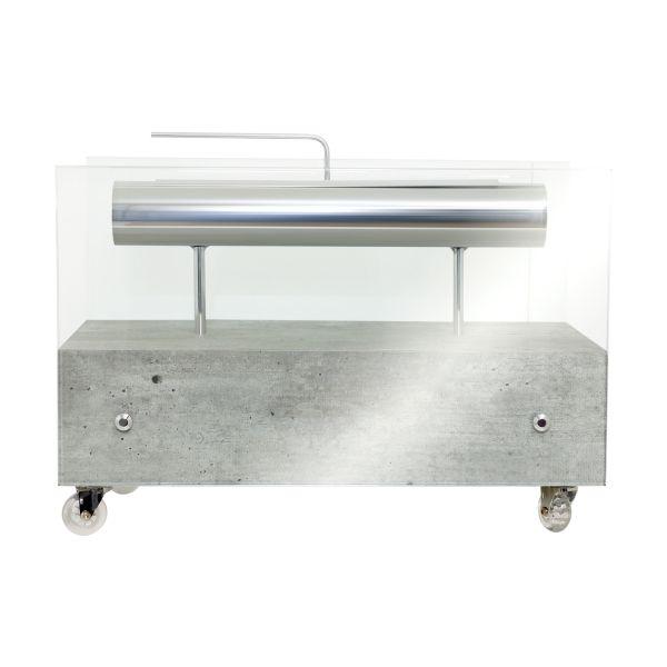 Lareira Ecológica Concreto Fullway 60X30Cm  - Arrivo Mobile