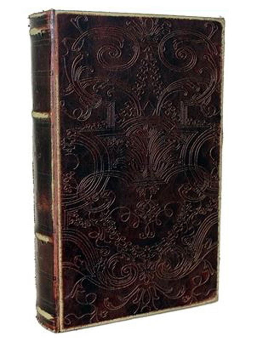 Livro Caixa Antique Arabesco 27x17x6cm  - Arrivo Mobile