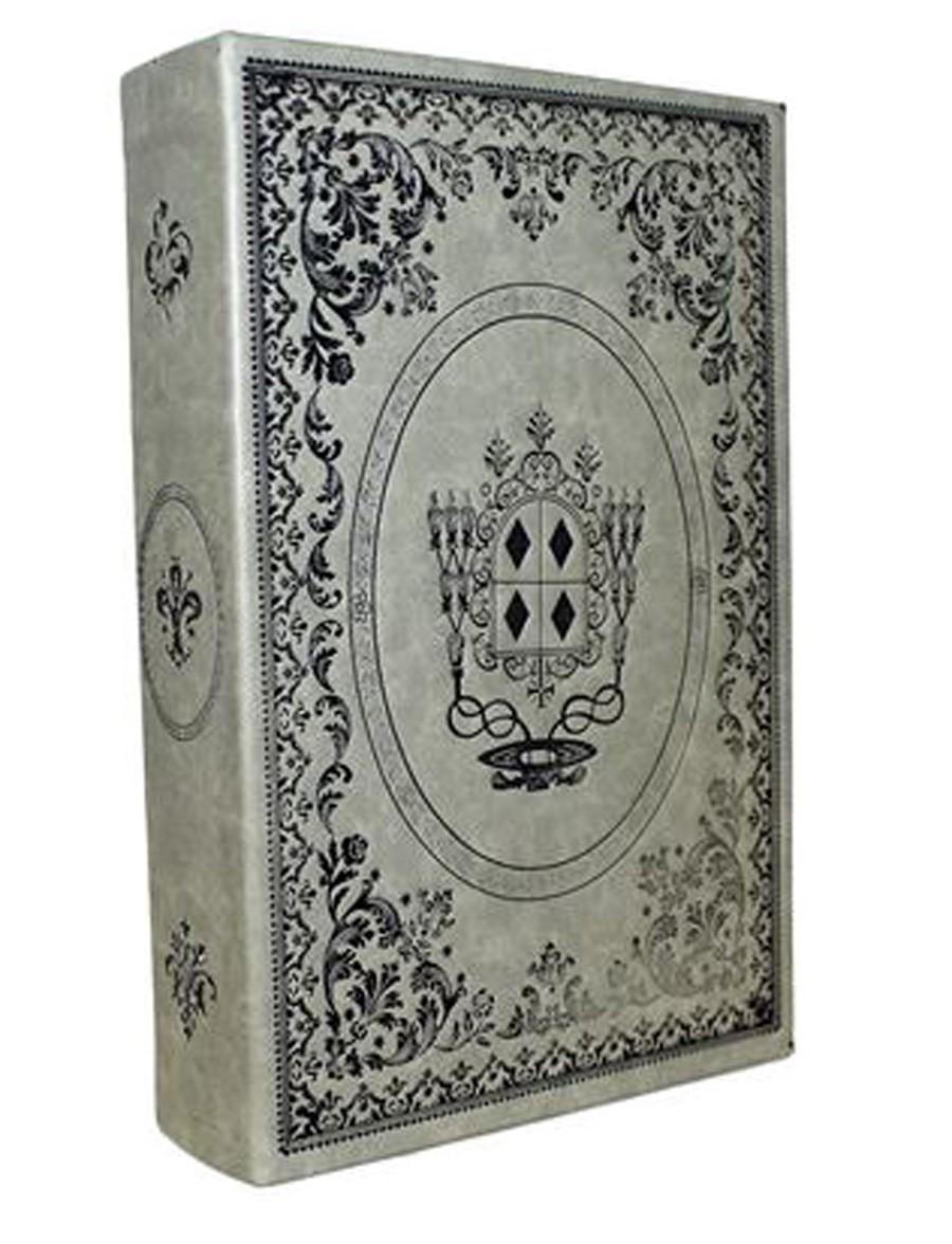 Livro Caixa Antique Leather 35x22x7cm  - Arrivo Mobile