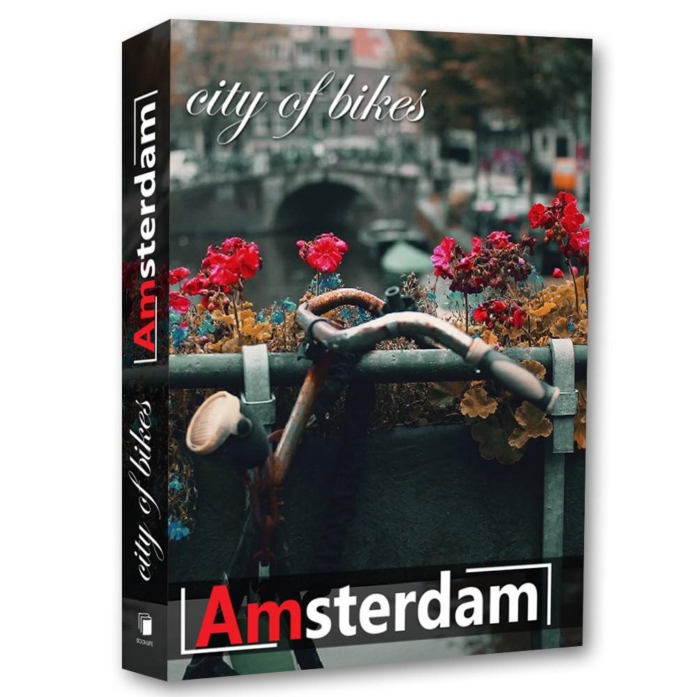 Livro Caixa Decorativo Book Box Amsterdam  - Arrivo Mobile