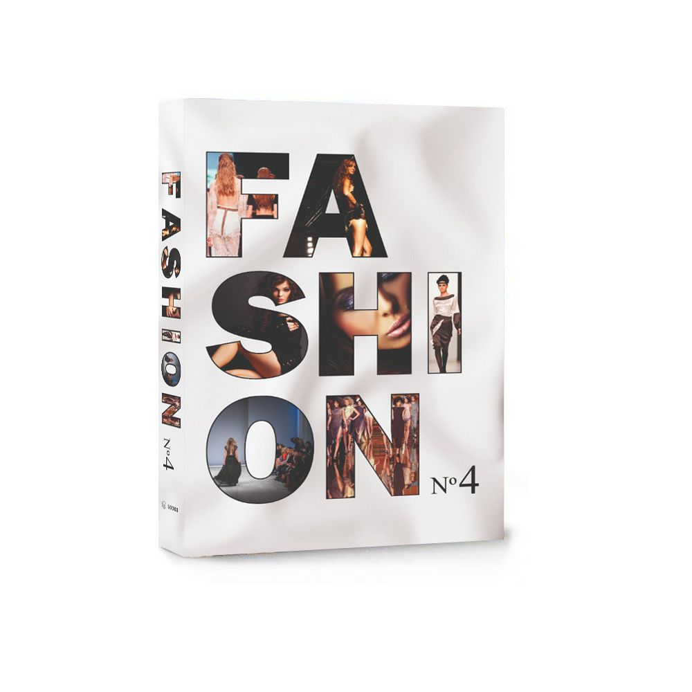 Livro Caixa Decorativo Book Box Fashion Nº 4  -  Arrivo Mobile