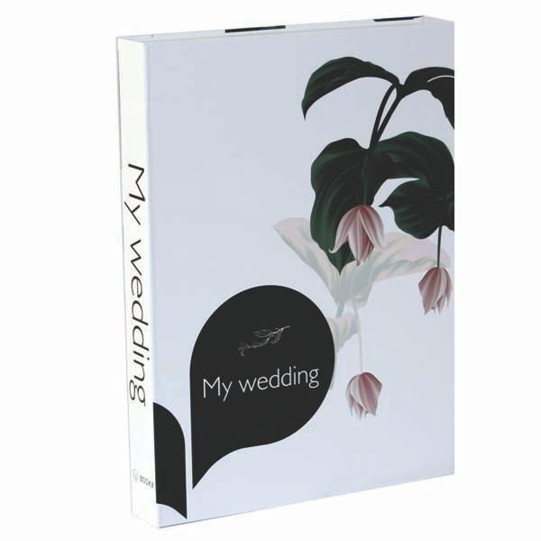 Livro Caixa Decorativo Book Box My Wedding  - Arrivo Mobile